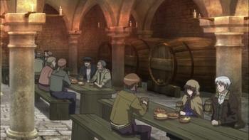 Кадр 3 аниме Волчица и пряности
