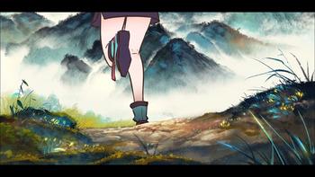 Кадр 1 аниме Туманный холм пяти стихий