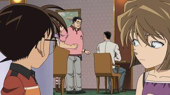 Кадр 3 аниме Детектив Конан: Потерянный корабль в небе