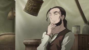 Кадр 1 аниме Волчица и пряности II