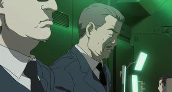 Кадр 3 аниме Призрак в доспехах: Синдром одиночки