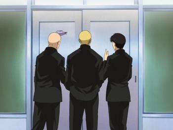 Кадр 1 аниме Кромешная путяга