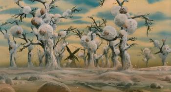 Кадр 1 аниме Навсикая из Долины ветров