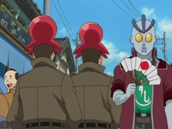 Кадр 1 аниме Гинтама