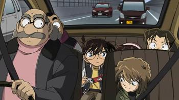 Кадр 2 аниме Детектив Конан: Квартал молчания