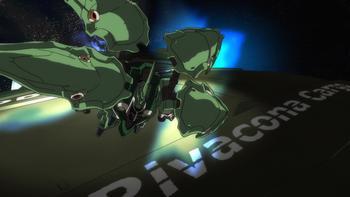 Кадр 3 аниме Мобильный воин Гандам: Единорог