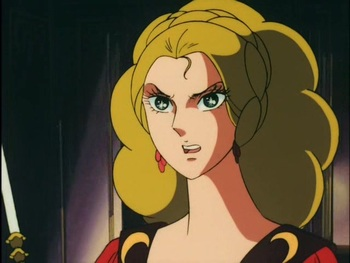 Кадр 1 аниме Роза Версаля