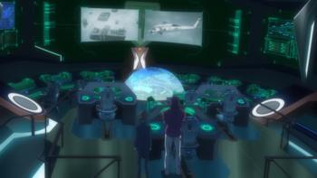 Кадр 1 аниме Песня боевых принцесс: Мехасимфония 5