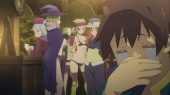 Кадр 3 аниме Этот замечательный мир! Багровая легенда