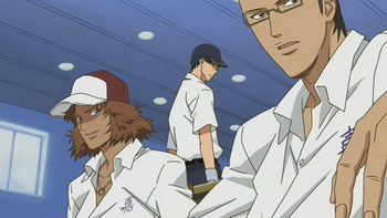 Кадр 2 аниме Принц тенниса: Национальный турнир
