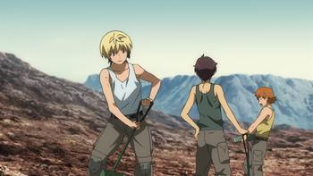 Кадр 1 аниме Гандам: Железнокровные сироты