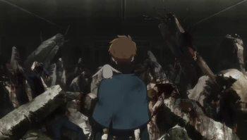 Кадр 1 аниме Хроника крыльев: Откровения Токио