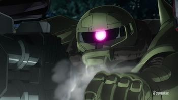 Кадр 1 аниме Мобильный воин Гандам: Удар молнии