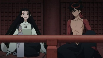 Кадр 1 аниме Истории мечей