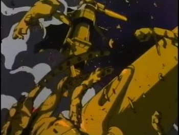 Кадр 1 аниме Хроника галактической гражданской войны