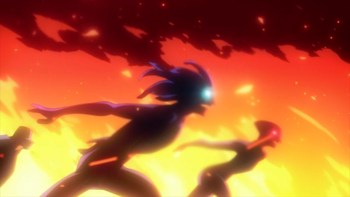 Кадр 2 аниме Моя геройская академия 2