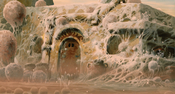 Кадр 3 аниме Навсикая из Долины ветров