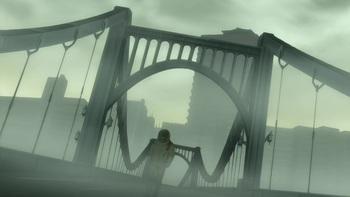 Кадр 1 аниме Темнее чёрного
