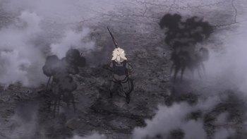 Кадр 3 аниме Военная хроника маленькой девочки
