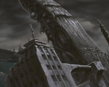 Кадр 1 аниме Волчий дождь