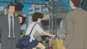 Кадр 3 аниме Девочка, покорившая время
