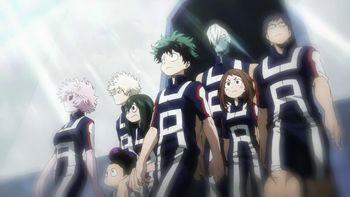Кадр 0 аниме Моя геройская академия 3