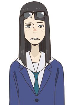 Аниме персонаж Саяка Канамори