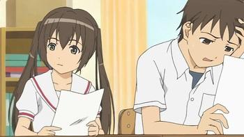 Кадр 1 аниме Сёстры Минами