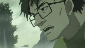 Кадр 2 аниме Темнее чёрного