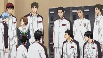 Кадр 1 аниме Баскетбол Куроко 3