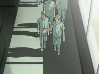 Кадр 1 аниме Монстр