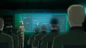 Кадр 3 аниме Стальная тревога! Новый рейд