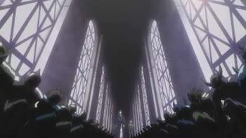 Кадр 1 аниме Рыцари Зодиака: Утерянный холст — Владыка Преисподней. Глава вторая