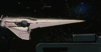 Кадр 2 аниме Легенда о героях Галактики: Увертюра к новой войне