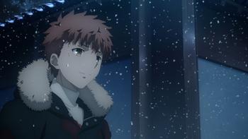 Кадр 1 аниме Судьба/Ночь схватки: Прикосновение небес 2