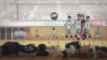 Кадр 1 аниме Волейбол!! Гений и чувство