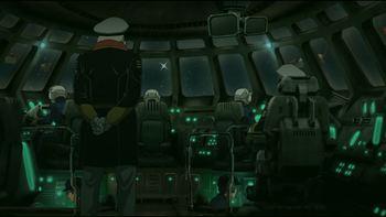 Кадр 1 аниме Космический линкор Ямато 2199