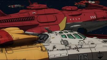 Кадр 3 аниме Космический линкор Ямато 2199