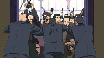 Кадр 0 аниме Призрак в доспехах: Синдром одиночки — Смеющийся человек