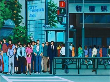 Кадр 0 аниме Городской охотник 2