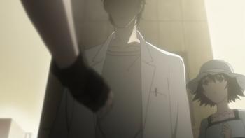Кадр 2 аниме Врата Штейна: Найти недостающее звено — Деление на ноль