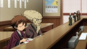 Кадр 3 аниме Внук Нурарихёна: Тысячелетняя столица духов