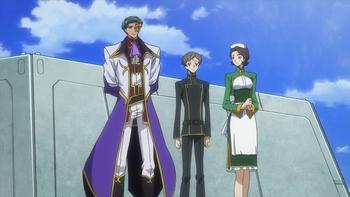 Кадр 2 аниме Код Гиас: Восставший Лелуш — Император