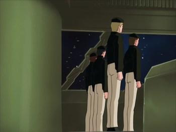 Кадр 3 аниме Легенда о героях Галактики: Спиральный лабиринт
