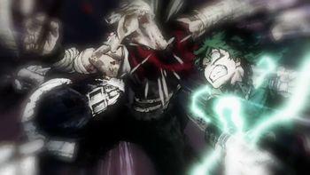 Кадр 3 аниме Моя геройская академия 3