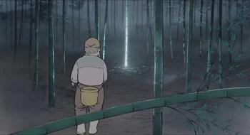 Кадр 3 аниме Сказание о принцессе Кагуя