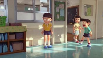 Кадр 1 аниме Останься со мной, Дораэмон!