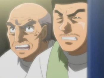 Кадр 2 аниме Первый шаг: Машиба против Кимуры