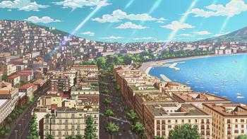 Кадр 0 аниме Невероятное приключение ДжоДжо: Золотой ветер