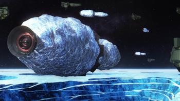 Кадр 3 аниме Легенда о героях Галактики: Новый тезис. Межзвёздная война — Часть 3